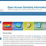 OASIS – Open Access Scholarly Information Sourcebook