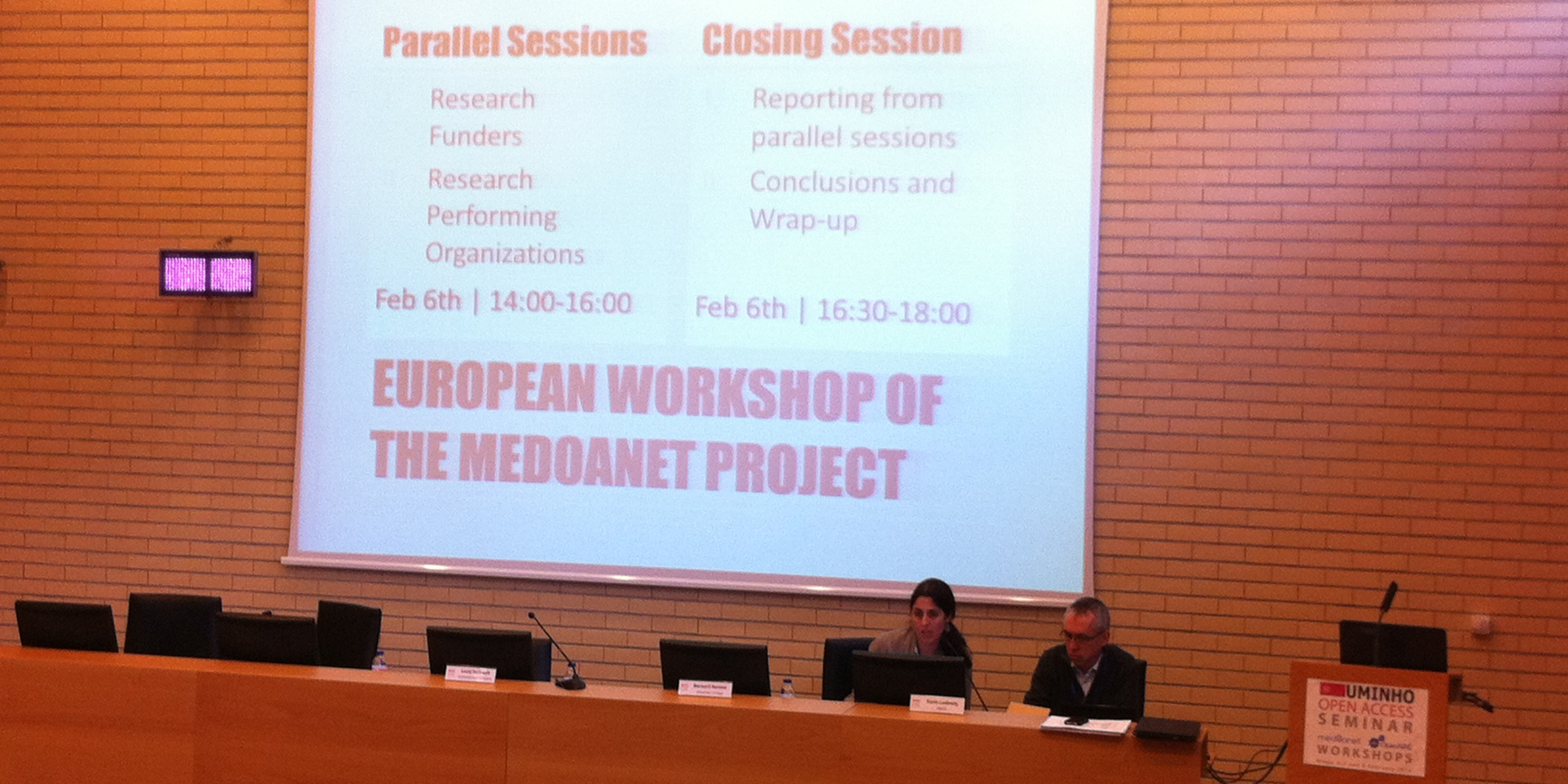 The MedOANet European Workshop Press Release