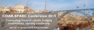 COAR-SPARC Conference 2015 – Connecting research results, bridging communities, opening scholarship @ Reitoria da Universidade do Porto, Portugal | Porto | Porto | Portugal