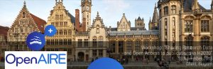 "OpenAIRE Workshop: ""Sharing Research Data and Open Access to publications in H2020"" @ Ghent 