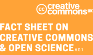 Publicadas duas fact sheets OpenMinted & OpenAIRE sobre Creative Commons e Open Science